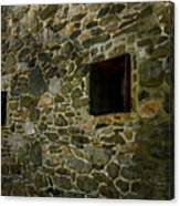 Vintage Stone Wall In Radnor  Pa Canvas Print