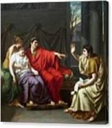 Wicar Virgile Canvas Print