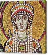Theodora (c508-548) Canvas Print