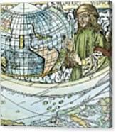 Amerigo Vespucci (1454-1512) Canvas Print