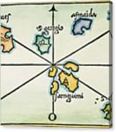 Azores, 1528 Canvas Print