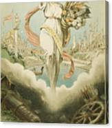Atlanta Exposition, 1895 Canvas Print