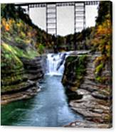 0032 Letchworth State Park Series  Canvas Print