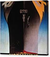 Steamship Normandie, C1935 Canvas Print