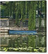 0044-2- Row Boat Canvas Print