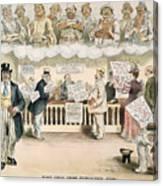 Foolish Forefathers, 1894 Canvas Print