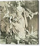 Otto Von Bismarck Canvas Print
