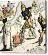 Europe: 1848 Uprisings Canvas Print