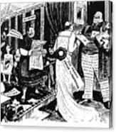 Press Cartoon, 1912 Canvas Print