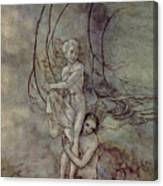 Andersen: Little Mermaid Canvas Print