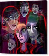 2636   Night In Their Eyes A Canvas Print