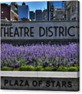 01 Plaza Of Stars Buffalo Theatre District Canvas Print
