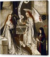 Spain: Annunciation, C1500 Canvas Print