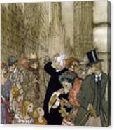 Rackham: City, 1924 Canvas Print