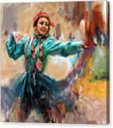 011 Pakhtun B Canvas Print