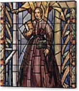 Sally Tompkins (1833-1916) Canvas Print
