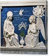 Della Robbia: Annunciation Canvas Print