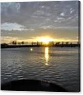 012 April Sunsets Canvas Print