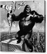 King Kong, 1976 Canvas Print