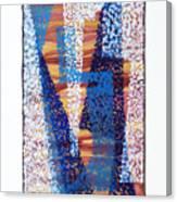 01325 Blue Too Canvas Print