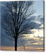 015 April Sunsets Canvas Print