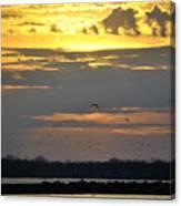 019 April Sunsets Canvas Print