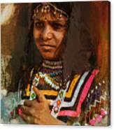 025 Sindh B Canvas Print