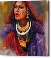 027 Sindh Canvas Print