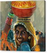 028 Sindh Canvas Print