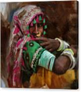029 Sindh Canvas Print