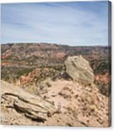 030715 Palo Duro Canyon 118 Canvas Print