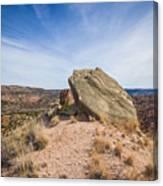 030715 Palo Duro Canyon 123 Canvas Print