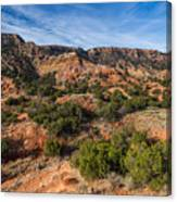 030715 Palo Duro Canyon 018 Canvas Print