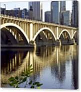 0333 3rd Avenue Bridge Minneapolis Canvas Print