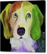 0356 Dog By Nixo Canvas Print