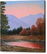 051116-3020     First Light Of Day   Canvas Print