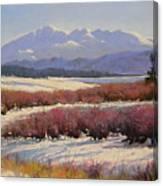 051209-1814  Pikes Peak - North View Canvas Print