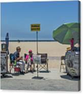 0676- Venice Beach Canvas Print