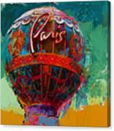 075 The Iconic Paris Casino Balloon Canvas Print