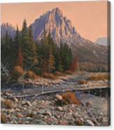 080525-1620  Fading Light On Horse Thief Creek Canvas Print