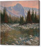 090504-1216   Rocky Creek Canvas Print