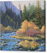 090917-68  Canyon Stream Canvas Print