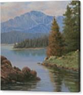 091021-912  The Peak In June Canvas Print