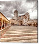 0954 Assisi Italy Canvas Print
