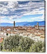0960 Florence Italy Canvas Print