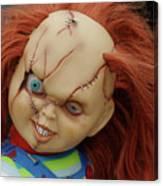 Chucky's Back Canvas Print