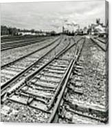 10th St. Tracks Canvas Print