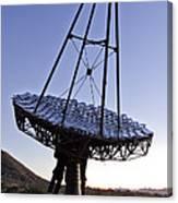 12m Gamma-ray Reflector Telescope Canvas Print