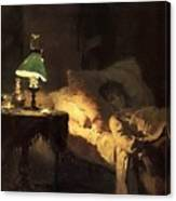 1 1886 Vasily Polenov Canvas Print