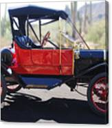 1911 Ford Model T Torpedo Canvas Print